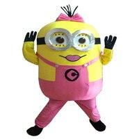 Yeni Gelmesi Kölelerinin kız Maskot Kostüm Yetişkin Karakter Kostüm Cosplay Maskot Kostüm Ücretsiz Kargo
