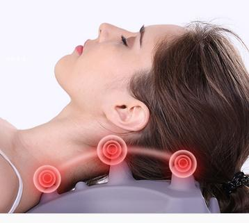 Cervical massage device pillow neck shoulder pad repair tensile neck health care adult home physiotherapy