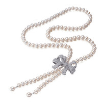 SNH Classic Necklace 100 Natural Freshwater Pearl Jewelry Gift For Mother 8mm Pearl Necklace