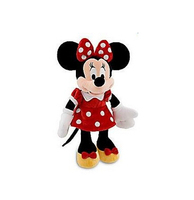 Original Mickey Minnie Mouse Plush Toys 48cm Minnie Pelucia Red Dress Stuffed Animals Kids Toys Dolls