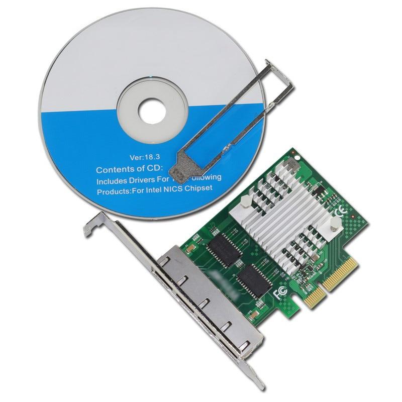 Renewed Intel EXPI9404PTL NIC EXPI9404PTLPAK1 1000BASET PCIE
