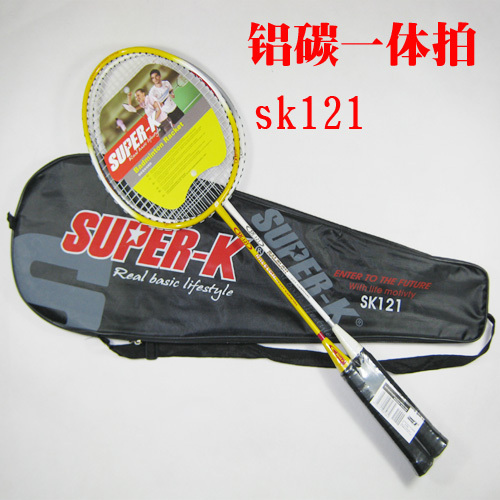 Super-k aluminum carbon one piece sk121 badminton