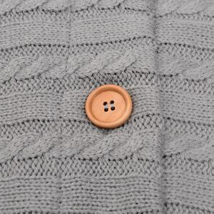 Image 4 - Coperta per bambini calda maglia per neonato Swaddle Wrap morbido sacco a pelo per bambini coprigambe busta in cotone per passeggino accessori coperta