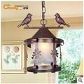 American country style chandelier chandelier lamp creative bird