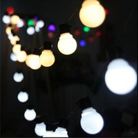 Outdoor 10 Meters 38 LED Lantern Bulb String Lights For Party Yard Patio Christmas Wedding Decoration