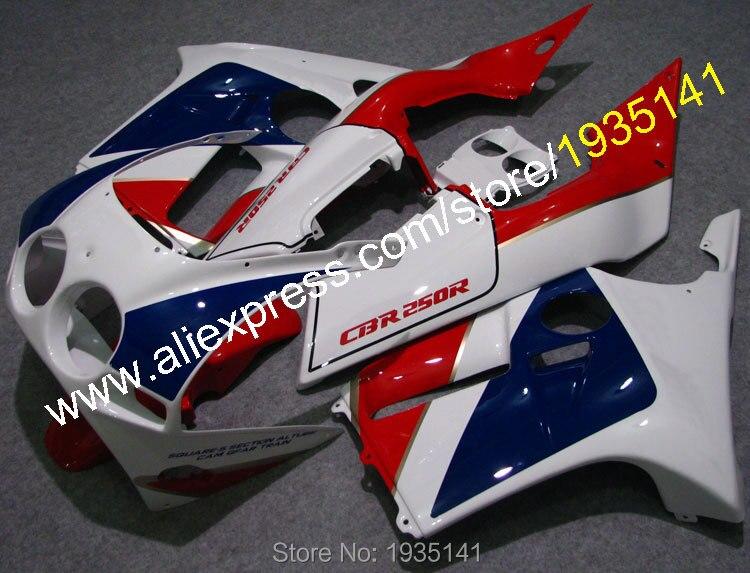Горячие продаж,для Honda CBR250R MC19 1988 1989 обвес ЦБР 250р ЦБ РФ 250 рублей 88 89 АБС дешевые мотоциклов Обтекателя (литья под давлением)