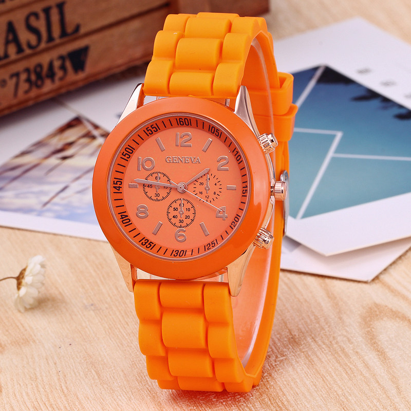 Fashion Children Watches Casual Silicone Waterproof Quartz Wristwatches Candy Jelly Kids Watch Clock boys girls Students Watch fashion brand children quartz watch waterproof jelly kids watches for boys girls students cute wrist watches 2017 new clock kids