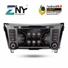 8 «ips Android 8,0 автомобильный DVD 2 DIN Авторадио для Nissan Qashqai X-Trail 2014-2017 мультимедиа FM видео gps навигация Подарочная камера