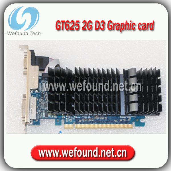 ФОТО 100% test and working Desktop Graphic Card for ASUS GT625 2G D3, Original VIDEO CARD
