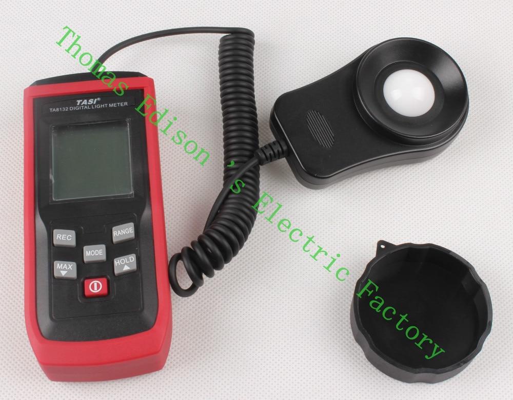 High quality TASI TA8132 200 000Lux Digital LCD backlight Pocket Light Meter Lux FC Measure Tester
