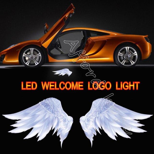Car Door High Power Welcome Light Projector Laser 3d Angel Wings