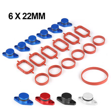 For BMW M47 6X22mm Auto Replacement Parts Swirl Blanks Flaps Repair Delete Kit with Intake Gaskets Key Blanks