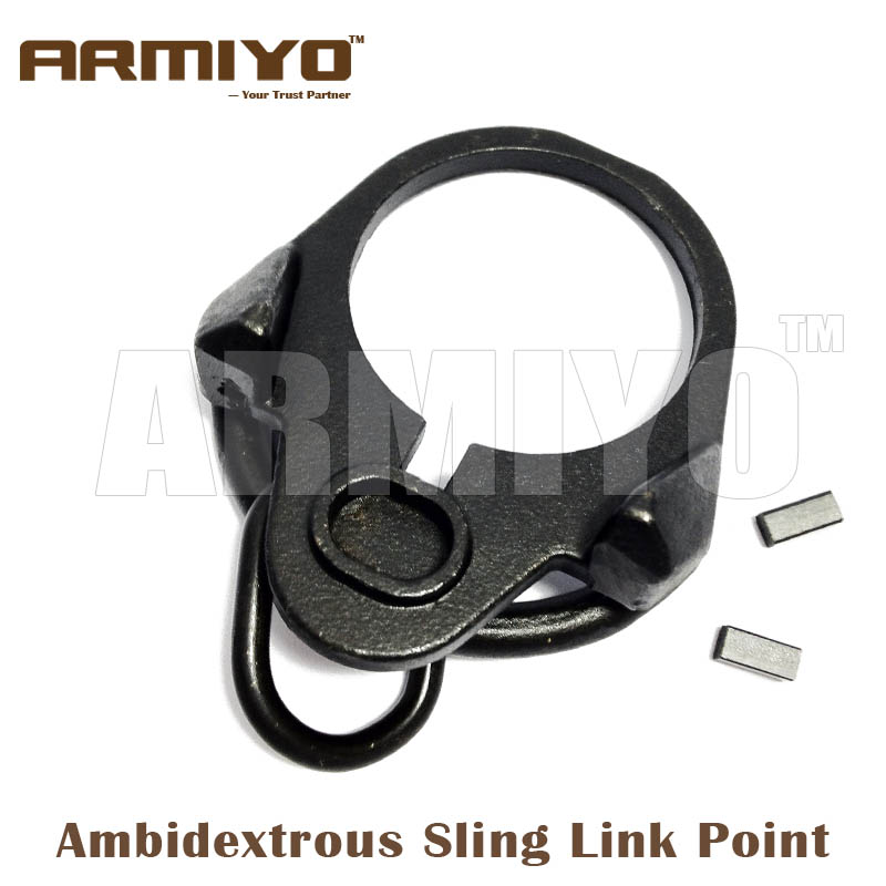 Armiyo m4 Ambidextrous Sling Link Attachment Point Bolt Fit Airsoft Tube Hunting Shooting Accessories