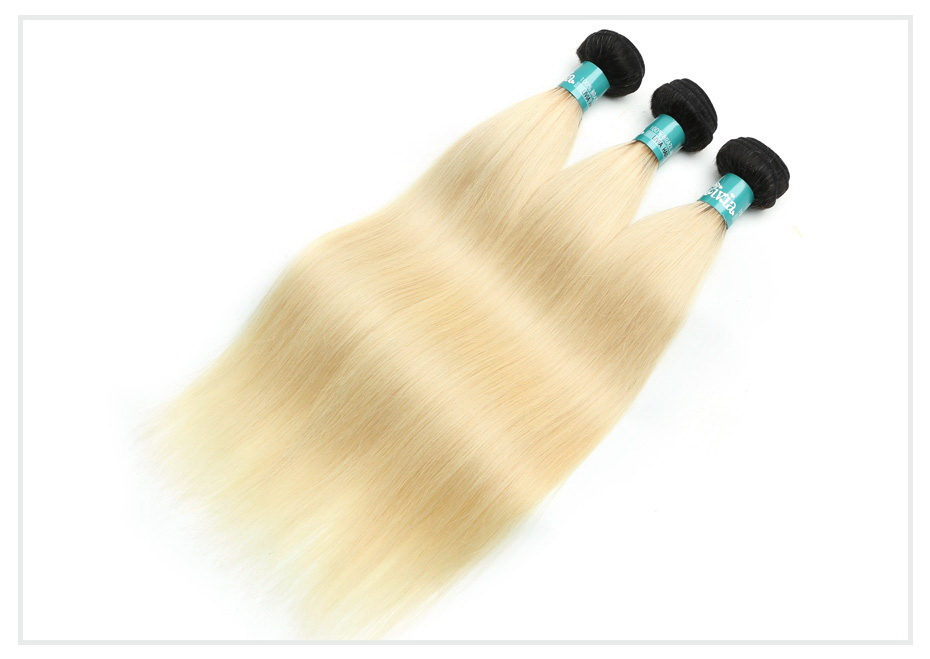 Ombre Blonde Human Hair (6)