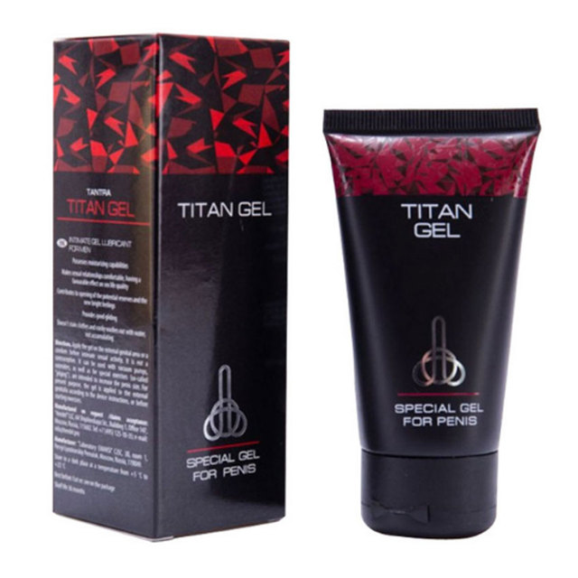 2017 New Male Penis Enlargement Products Increase Russian Titan Gel Increasing Enlargement Cream 50ml Sex Products for Men