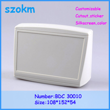 1 piece free shipping plastic housing electronics case plastic plastic housing 108x152x54 mm