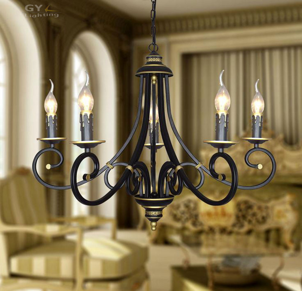 AC110V 220V FREE SHIPPING Village Antique wrought iron Pendant Lights restaurant Nordic Lights Lighting for Living Dining Room 2012 hot sell lighting lamps living room lights pendant light h60828 rustic wrought iron band illuminant free shipping