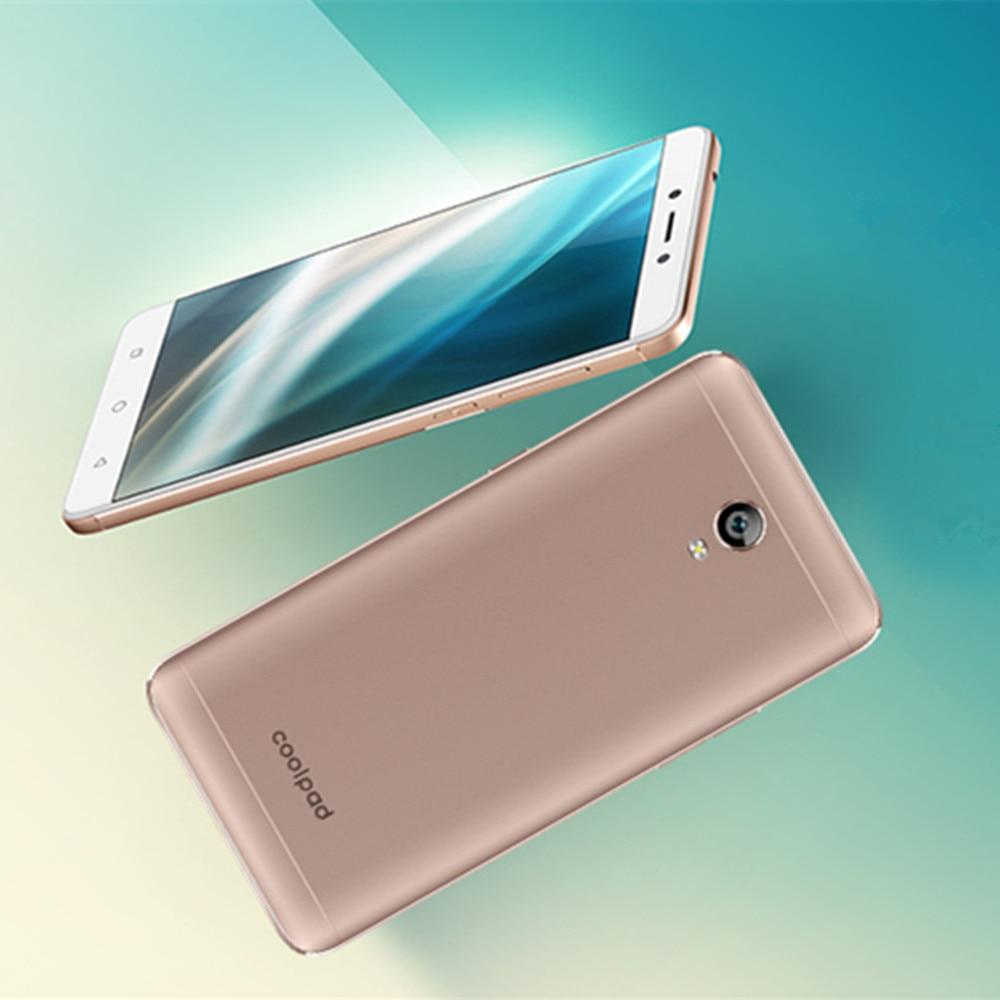 COOLPAD Roar 5 E2C 1GB RAM 16GB ROM Snapdragon 210 1.1GHz QuadCore 5.0 Inch IPS HD Screen 2500mAh 4G LTE Android 7.1 Smartphone
