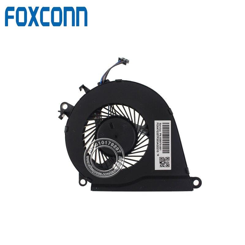 Для hp OMEN 15-AX020CA 15-AX039NR 15-AX252NR 15-AX253DX вентилятор процессора 858970-001