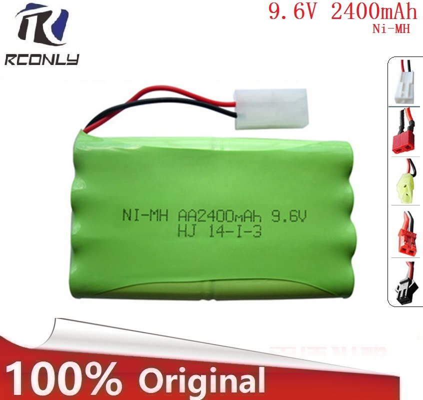 9.6V 2400mAh Remote Control Toys Electric Toy Security Facilities Electric Toy AA Battery 9.6 V Battery Group SM/T/JST Plug