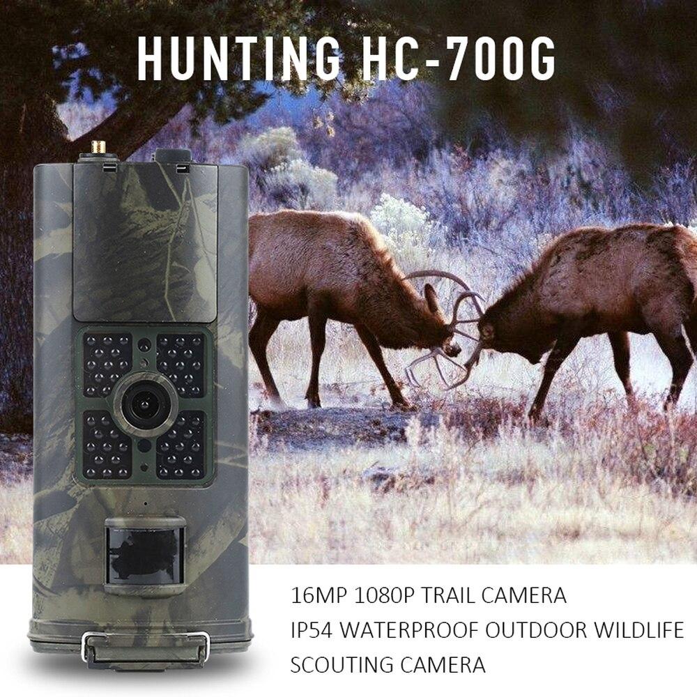 HC-700A Hc700g HC 700 M caméra de Chasse 2G 3G GSM MMS SMS Photo piège caméra de sentier Vision nocturne Scout Animal sauvage caméra Chasse