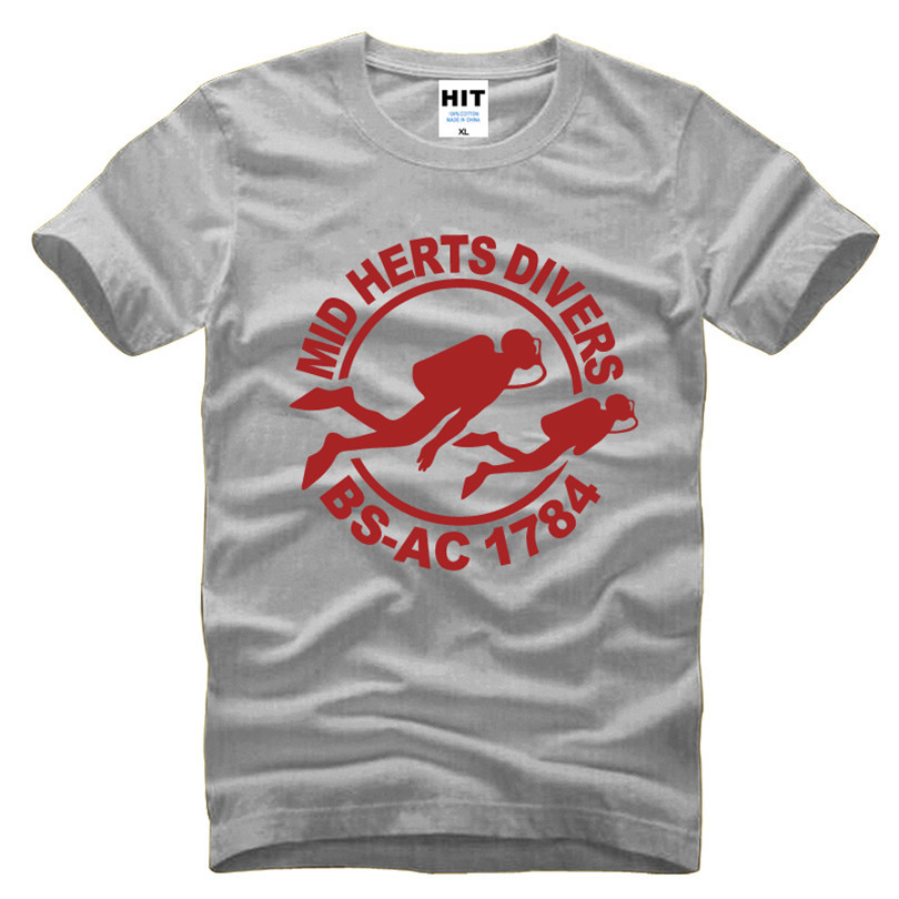 Mid Herts Divers логотипі басылған ерлерге - Ерлерге арналған киім - фото 6