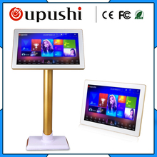 "Free shipping; High quality 19 "" 3T  Hard disk Karaoke   touch screen  Home KTV bar, KTV, select the song touch screen"