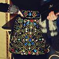 Осень и зима новый аристократический темперамент бисером бриллиантами юбки благородный пакет бедра юбка w1774 бесплатная доставка
