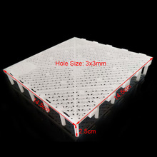 Filter Plate For Filtration Of Sediment Material Equipment  2pcs Aquarium Fish Tank Under Gravel Bottom