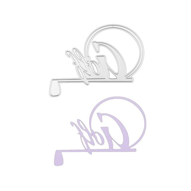 Bi fujia french alphabets Golf frame backdrops Decorative Embossing ...