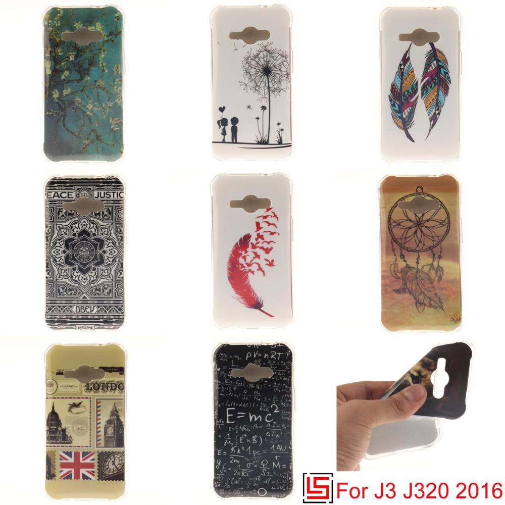 Bastante Ultra delgada de TPU de silicona suave de la caja del teléfono carcasa cubierta de la bolsa Cove para Samsung Galaxy J3 2016 León sexo