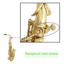 OOTDTY золото для саксофона на шею винт принадлежности для саксофона медь духовой инструмент ремонт инструмент винт для Эски саксофона