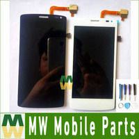 High Quality White Color For Fly IQ4417 LCD Display Touch Screen Digitizer Assembly 1PC Lot