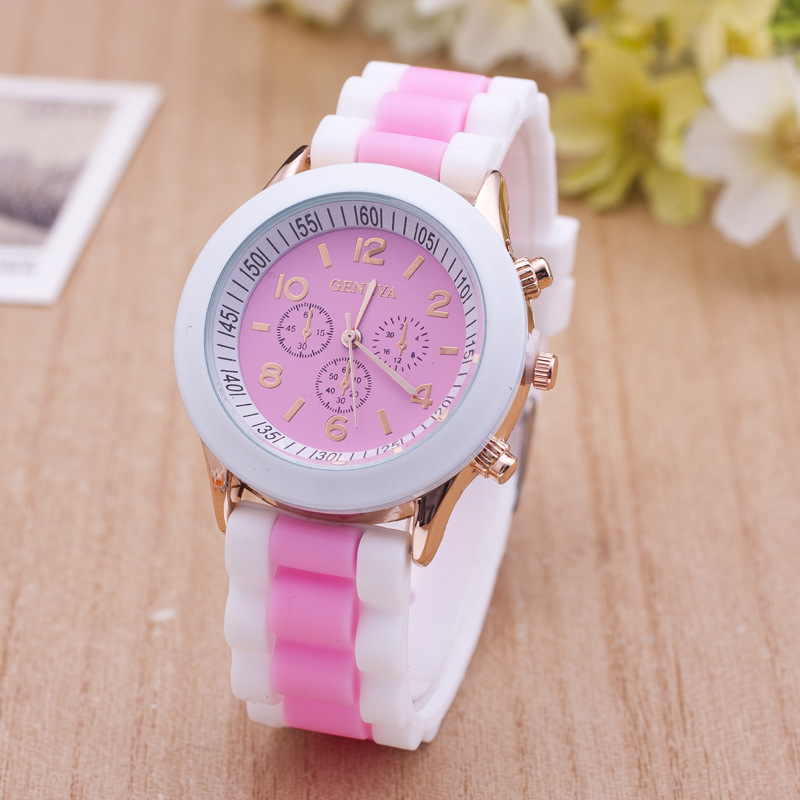 Hot Sales Silicone Women Watches Ladies Fashion Relogio Feminino Dress Quartz Wristwatch Female Student Watch Relojes Mujer in Women 39 s Watches from Watches