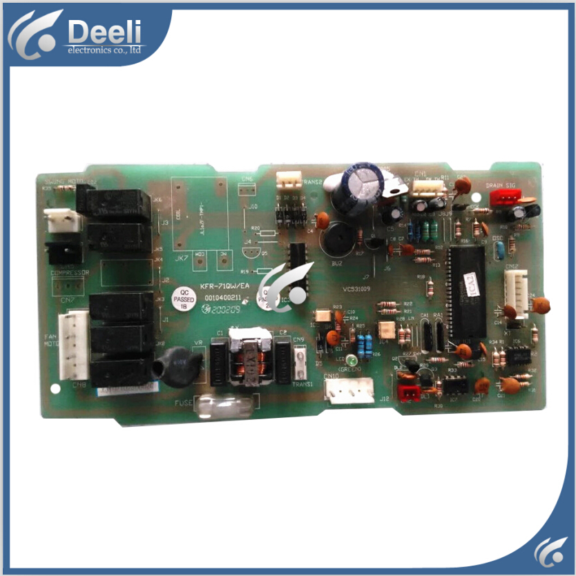 95% new good working for air conditioning board KFR-71QW/EA 0010400211 VC531009 circuit board 95% new for haier refrigerator computer board circuit board bcd 198k 0064000619 driver board good working