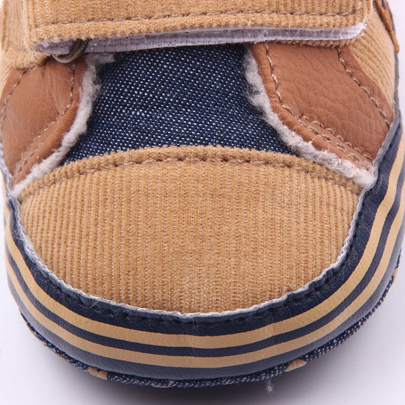 New Fashion Antislip Baby Boots Winter Newborn Baby Boys Shoes Warm First Walker Baby Shoes