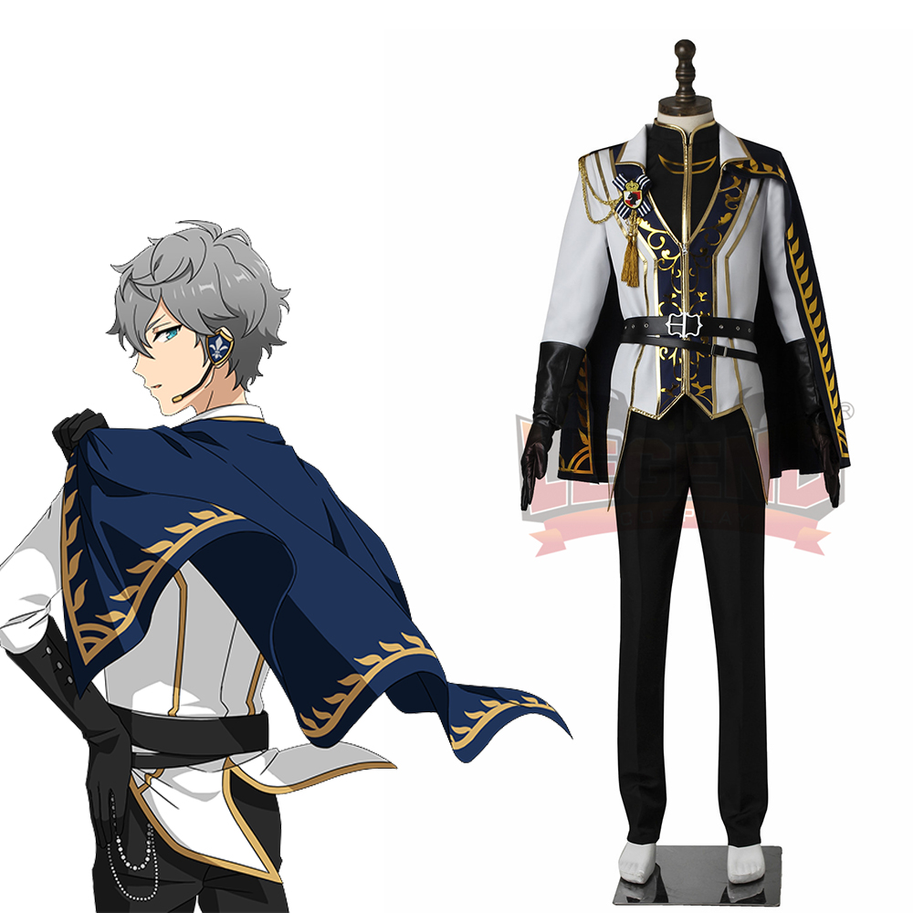 Ensemble Stars Knights Izumi Sena Cosplay costume custom made with cloak