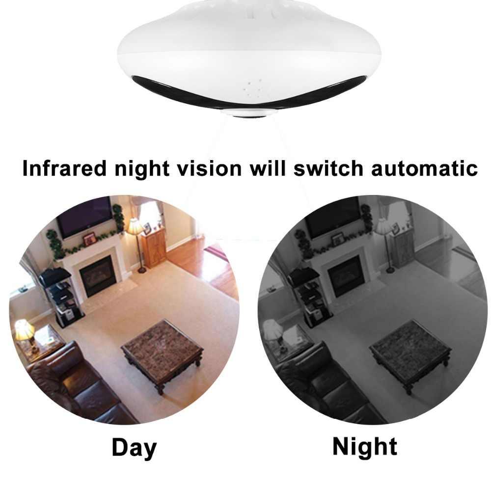 Беспроводная панорамная камера DAYTECH 960P рыбий глаз ip-камера WiFi для домашней безопасности ИК датчик движения двухстороннее аудио 360 градусов полный обзор