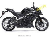 Лидер продаж, все черный для Kawasaki Z1000 2010 2011 2012 2013 Z 1000, 10, 11, 12, 13 лет, антиблокировочная система, мотоциклетные Обтекатели Kit (литья под давление