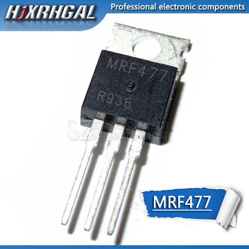 10PCS New MRF477 TO-220 Power Transistor NPN Channel New And Original HJXRHGAL