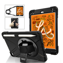 Ruged Case for apple iPad Mini 5 2019 Tablet A2133 A2124 Kids Shockproof Armor Silicone Stand Cover Hand/Shoulder Strap 7.9 inch цена