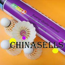 6tude High quality Genuine HANGYU NO.3 badminton shuttlecock durable duck feather badminton shuttlecocks ball