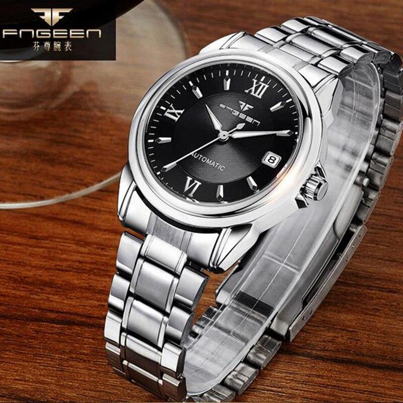 Wristwatch Mechanical-Watch Waterproof Hollow Automatic Business Relogio Top Male Masculino