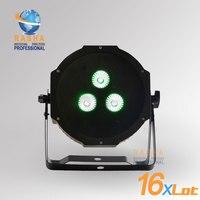 16X LOT New 2014 Ultra Bright LED Flat RGBAW Par 38 Wash Fixture With 3 15W