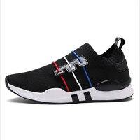 뜨거운 경량 실행 신발 남성 스포츠 신발 스마트 칩 남성 블랙 운동화 통기성 남자 신발 화이트/블랙 36-45