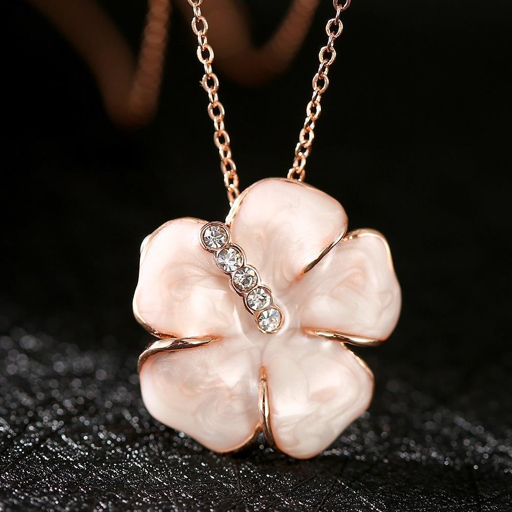 N653 WholesaleNickle Free Antiallergic18K Real Gold PlatedNecklace pendantsNew Fashion JewelryFor Women