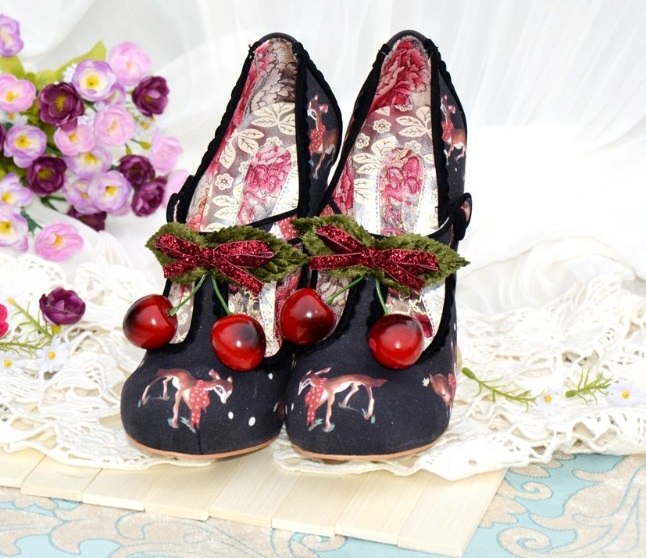 перчатки striking Spring/Autumn Hot Fashion Women Shoes High Heels Round Toe Special Animal Deer Heels Casual Striking Pumps Women Free Ship