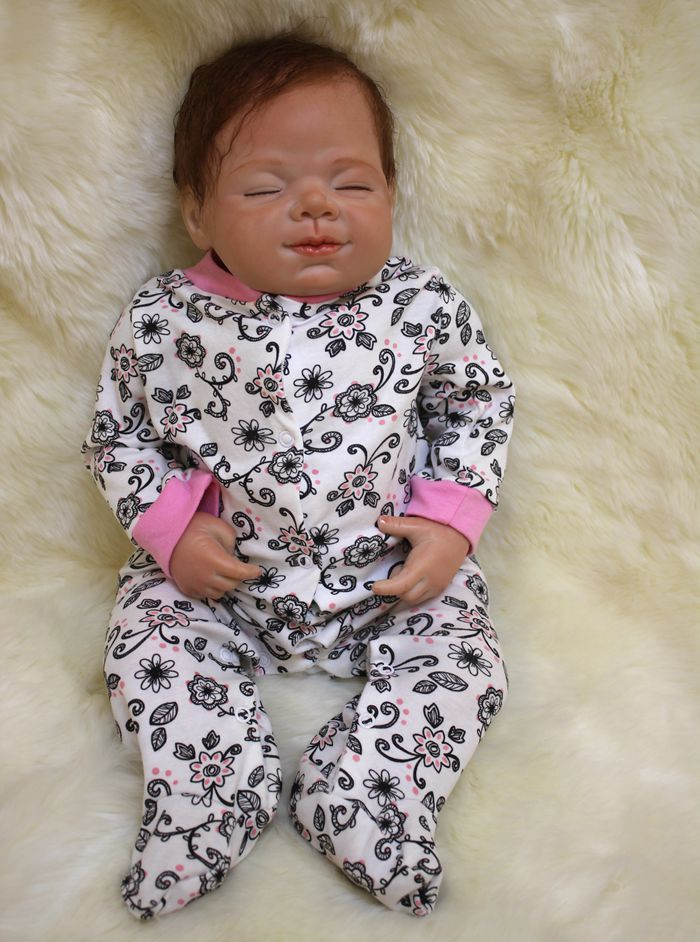 22 Real Touch Silicone Reborn Baby Doll Toy Lifelike Exquisite Soft Newborn Babies Doll Best Birthday Gift Collectable Doll22 Real Touch Silicone Reborn Baby Doll Toy Lifelike Exquisite Soft Newborn Babies Doll Best Birthday Gift Collectable Doll