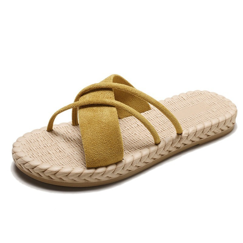 2019 Fashion Summer Slippers Women Home House Indoor Slippers Comfort Flat Beach Women Slipper Slides Casual Shoes Woman in Slippers from Shoes