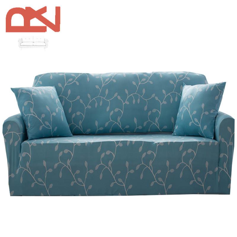 cubierta en la esquina sof de tela moderna europea plaid colorido suave universal protector cubiertas